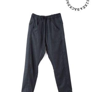 山と道|5-Pockets Merino Pants  #Charcoal
