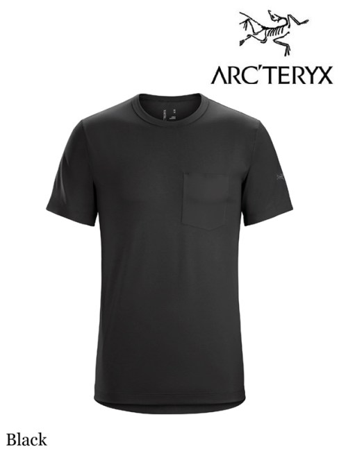 Anzo T-Shirt #Black|ARC'TERYX 再入荷しました。