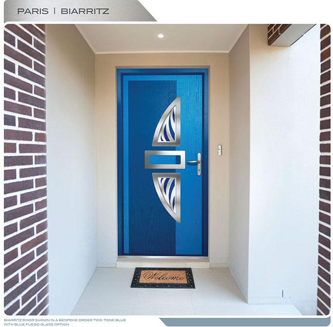 Modern Front Door Fiberglass Modern Door With Beautiful