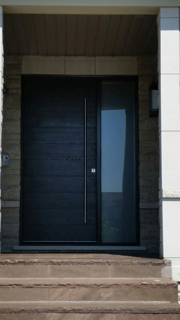 Raised Solid Wood Panel Interior Doors