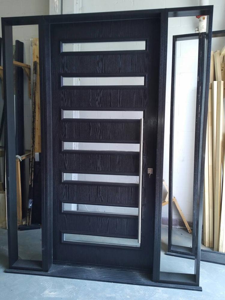 Custom Modern Door Custom Exterior Modern Door With 2 Site