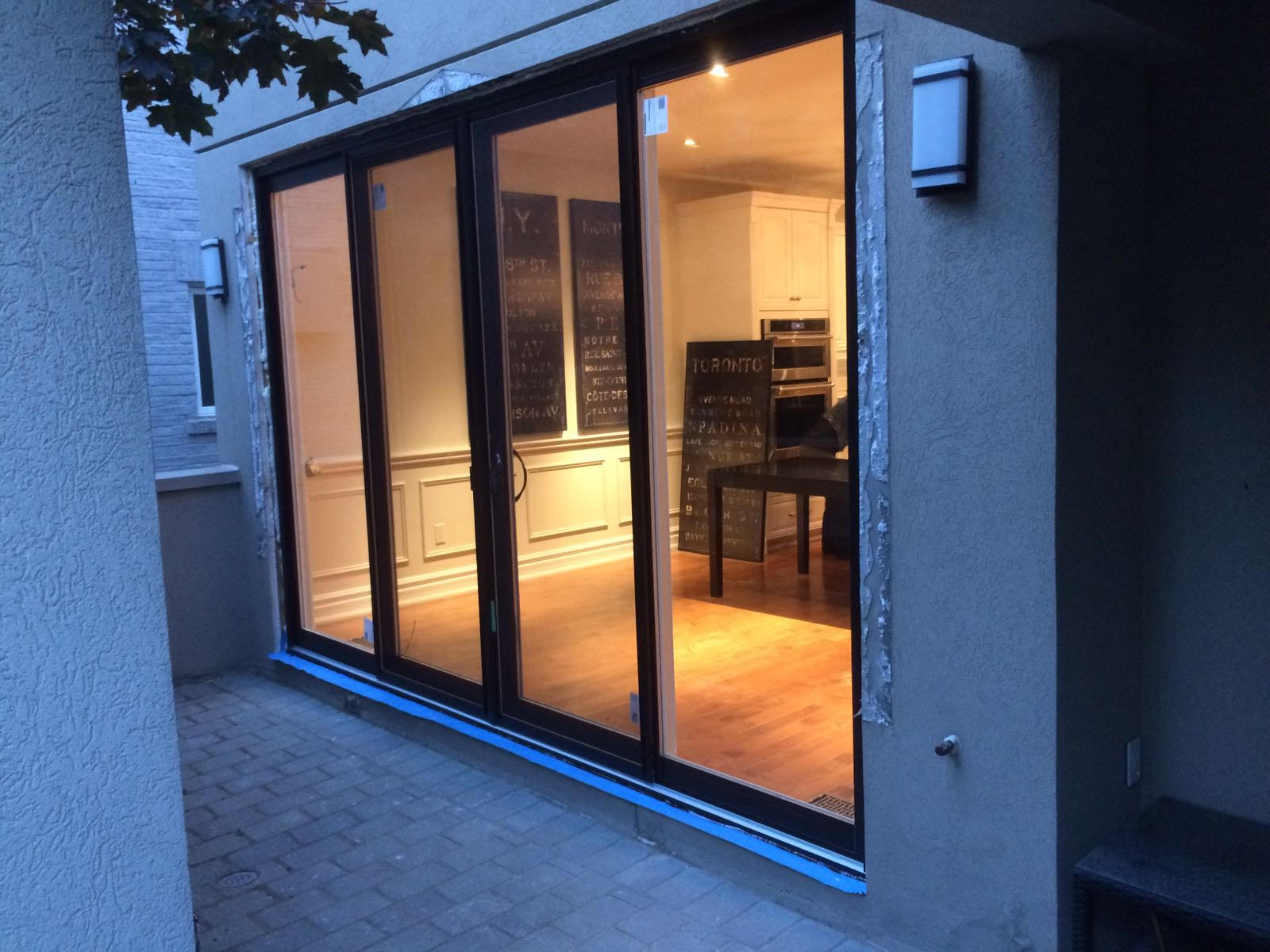 Oversized Modern Exterior Sliding Patio Doors By Modern
