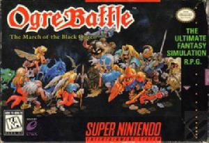 Classic Video Game Closet: Ogre Battle March of the Black Queen