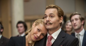Mortdecai: 2015 meet the 1950s