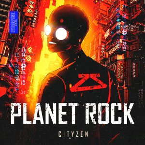 "Not Even Taking a Beat, CYB3RPVNK's Enigmatic Cityzen Drops G-House ""Planet Rock"""