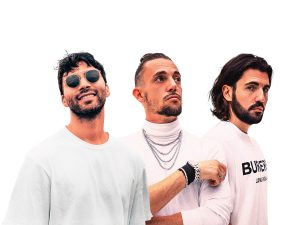 "Dimitri Vegas & Like Mike Recruit R3HAB For an EDM ""Santa Claus is Coming to Town"""