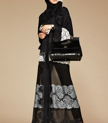 The change in women with abaya