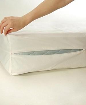 Rajlinen Luxury Waterproof Mattress Protector Cal King Size 11 Inch Pocket Depth White Solid Encat Style Breathable Membrane Saferest