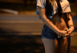 Super-hot Brazilian prostitute waits on the streets of Belo Horizonte, Brazil, for a customer World Cup 2014