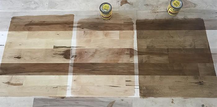 hardwood vs wood look tile which is
