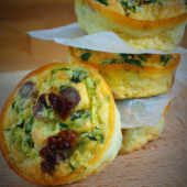 Keto muffiny jajeczne (Paleo, LowCarb)