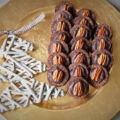 Keto ciasteczka kakaowe z pecanami (Paleo, LowCarb)