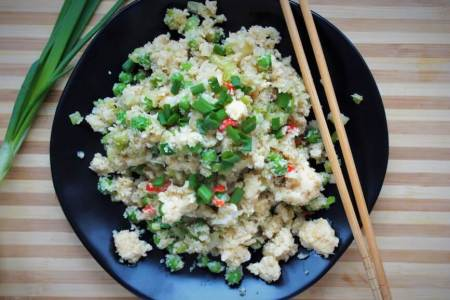 Keto fried rice