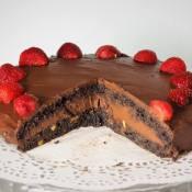 Keto tort czekoladowy (Paleo, LowCarb)