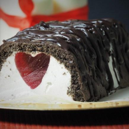 Keto ciasto walentynkowe