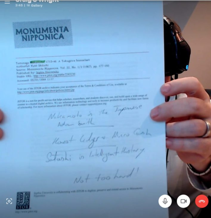Documento mostrado en la entrevista de Modern Consensus (via Brendan Sullivan)