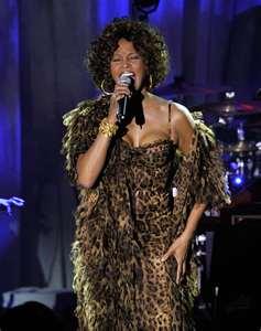 Whitney in leopard