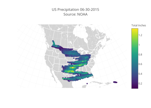 10 D3 js and WebGL weather, maps, and geography charts made