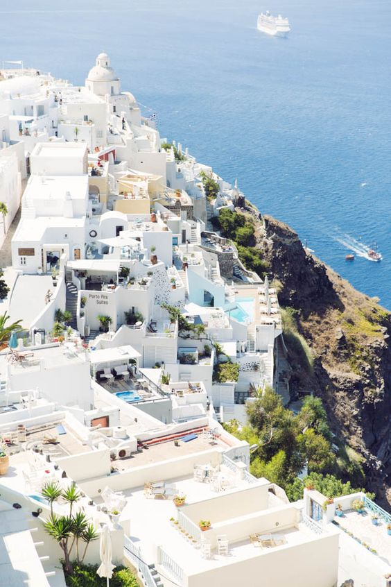 Daydreaming Of Santorini