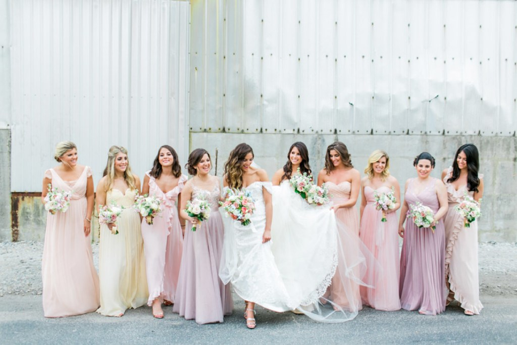 How To Find Bridesmaid Dresses For Every Size That Your Girls Will Love