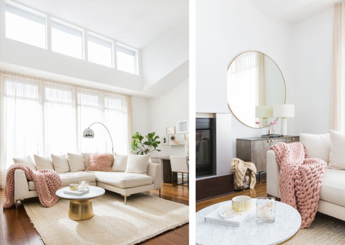 Millennial Pink Home Decor