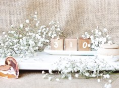 Wedding Day Countdown Cubes