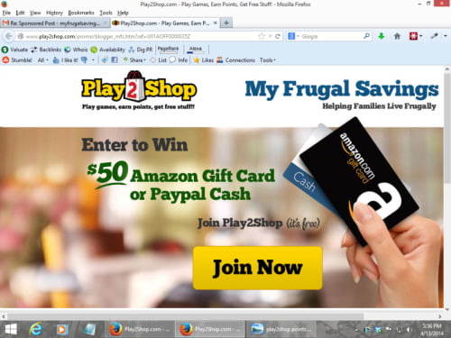 Play2Shop #Review! Win $50 Amazon or Paypal #Play2PlanetW