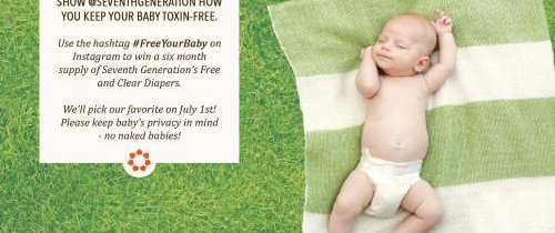 Seventh Generation Free and Clear Diapers & Wipes Review #FreeYourBaby