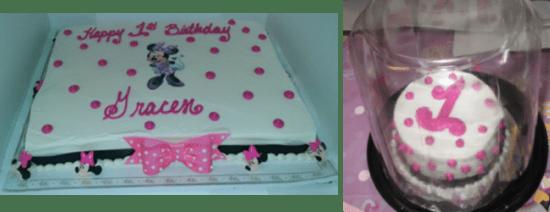 Minnie Mouse 1st Birthday