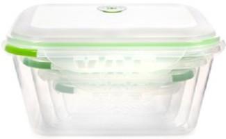 Ozeri INSTAVAC Green Earth Food Storage Container Set