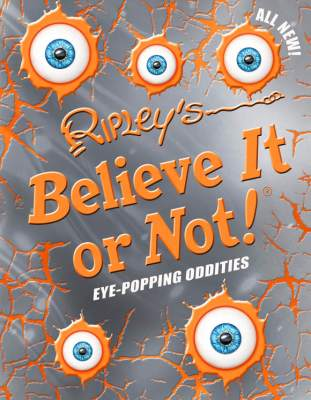 New Ripley's Believe It or Not! Eye-Popping Oddities! Book Review #holidaygiftguide2015 #bookreviews