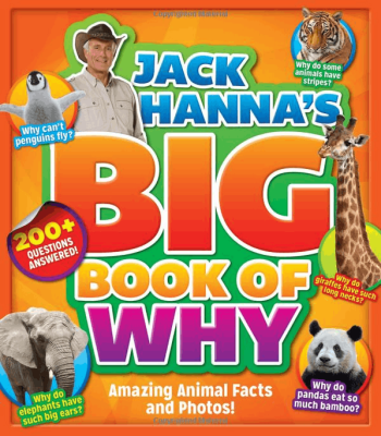 Answer those Animal Why Questions with Jack Hanna's Big Book of Why! #HolidayGiftGuide2015