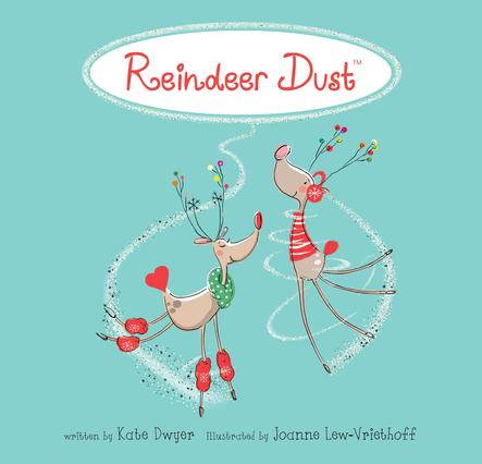 What do you do if Santa's Reindeer can't Find your House? Sprinkle Reindeer Dust!