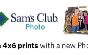 Sam's Club FREE Prints = 50 4×6 Prints!