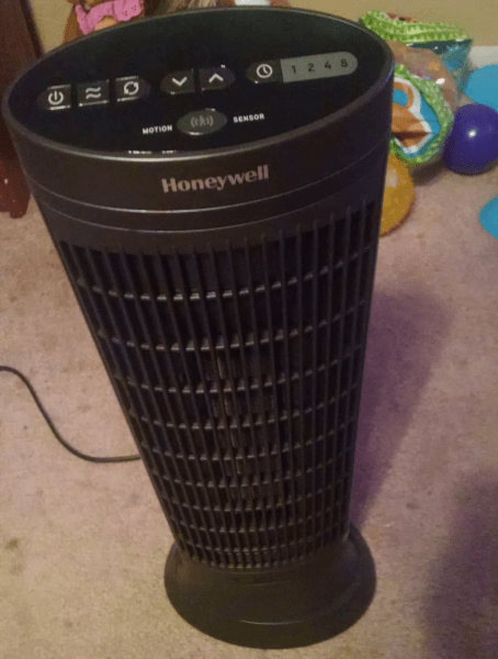 Heat any Room with a Honeywell Digital Ceramic Tower Heater with Motion Sensor