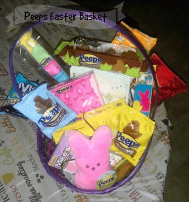 PEEPS® Yummy Easter Basket Fillers #PEEPSEASTER #ad #basketfillers