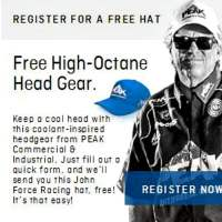 Free John Force Racing Hat