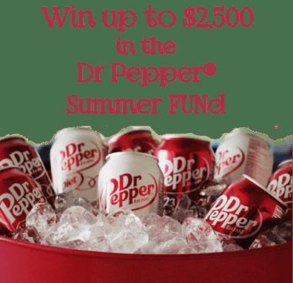 DR PEPPER® Summer FUNd Contest! Win $2,500 #SummerFUNd #ad