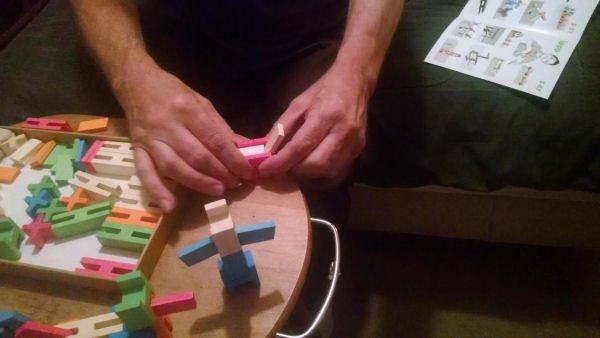 Luco Wooden Bricks Toxin Free Blocks