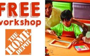 Home Depot FREE Back to School Whiteboard Kids Workshop 9/3