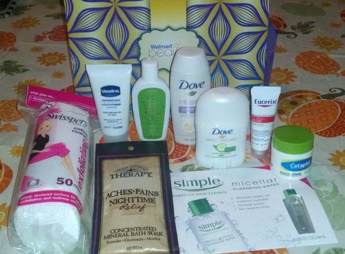 FREE Walmart Beauty Box