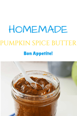 Homemade Pumpkin Spice Butter