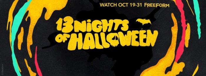 13 Nights of Halloween Schedule