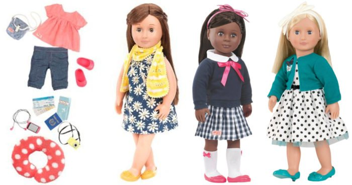 18″ Our Generation Dolls & Accessories $19.99 #GiftIdea #ToddlerGift