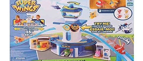 Super Wings Airport & Transforming Jett Playset