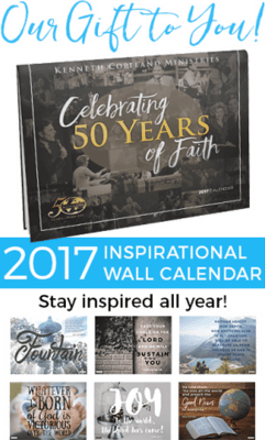 Free 2017 Calendars ~ Inspirational & Smith Root Wall