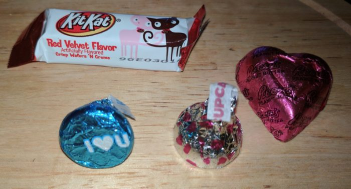 Hershey's Valentine's Mini Bars for your Sweetheart!