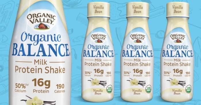 Score an 11 oz Organic Valley FREE Protein Shake Coupon