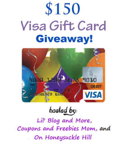 Could you use a $150 Visa Gift Card? Enter by April 21st