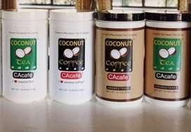 Request your CAcafe – Free Coconut Coffee and Tea